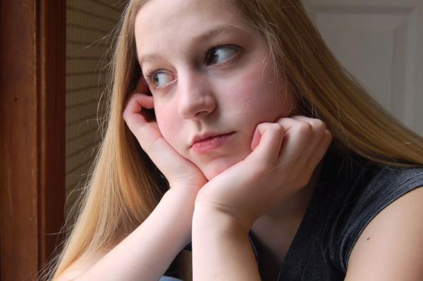 girl pondering