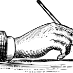 how-to-hold-a-pen-hi clker