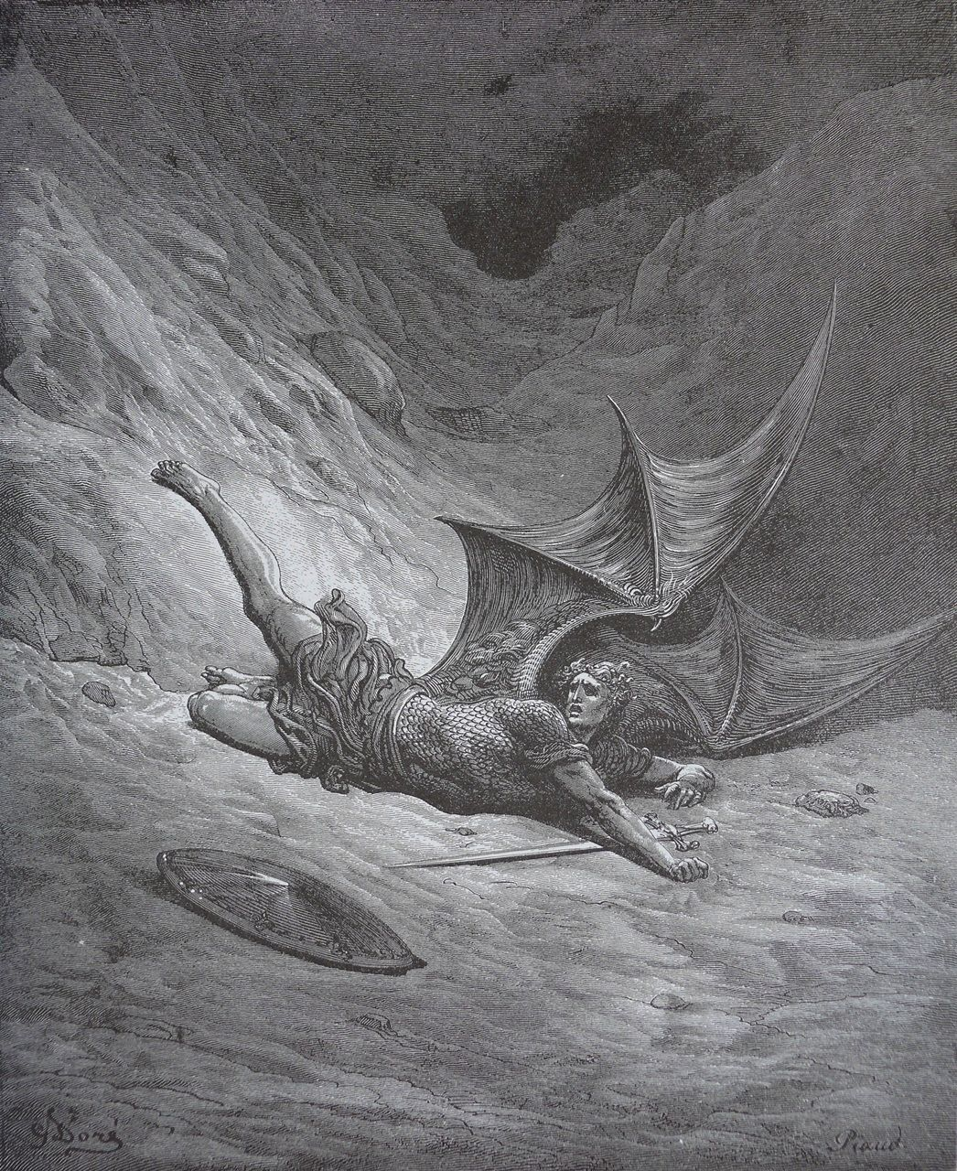 Who Is Satan? (Bible Art)