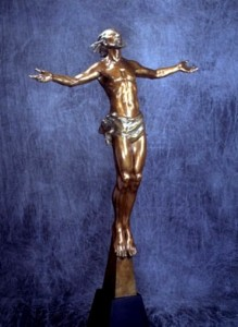 Christ Rising by Frederick Hart, 1998 (Bronze Statue)