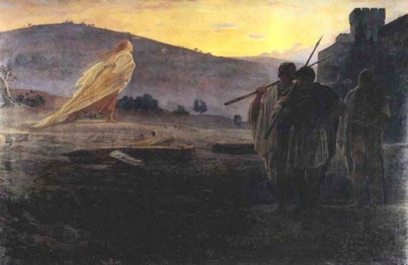 Harbingers (Messengers) of the Resurrection by Nikolay Gay, 1867.
