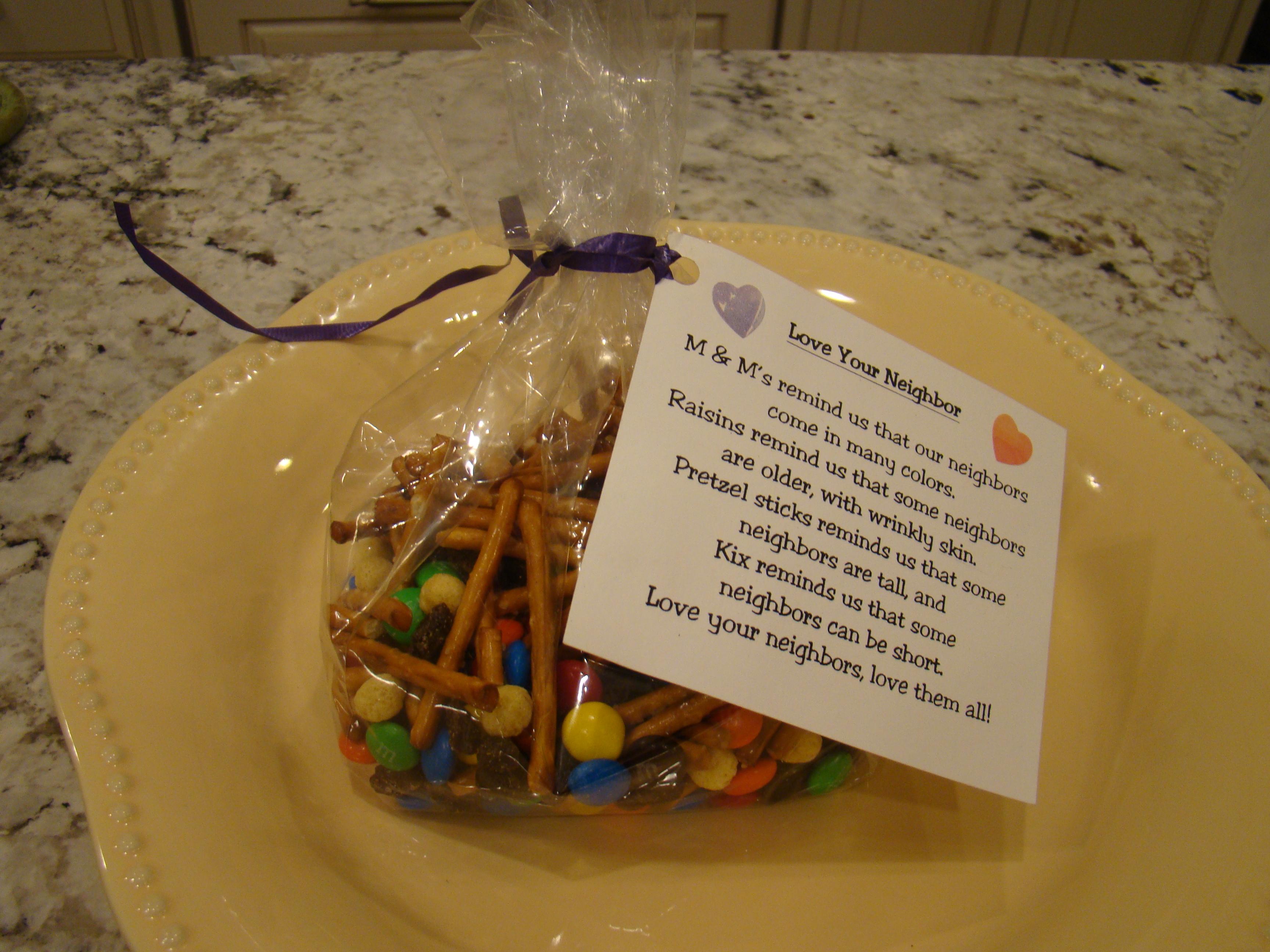 Good Samaritan Snack Bags