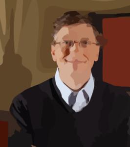 Large Bill Gates