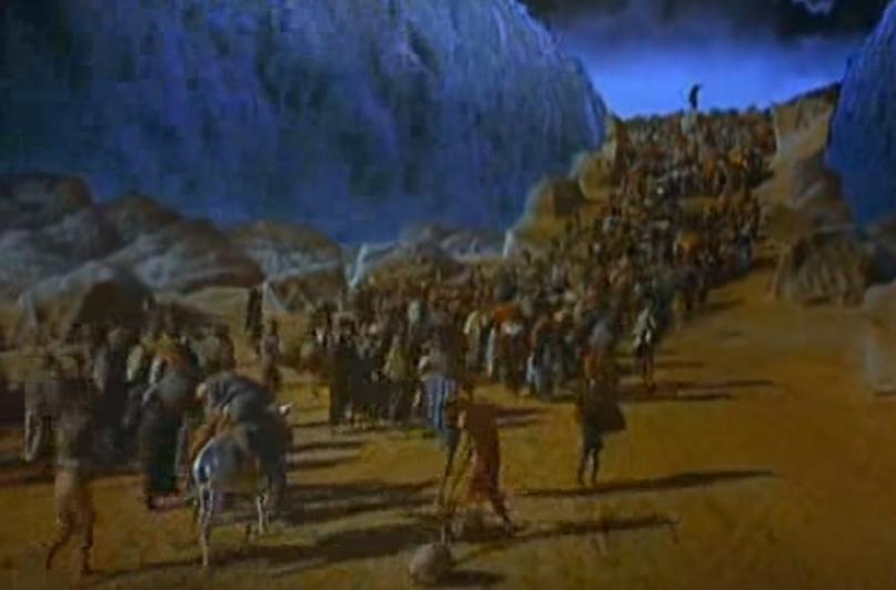 Ten Commandments Movie Clip