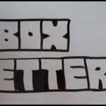Box Letters from Youtube Video