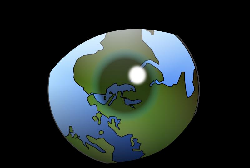 world and eye
