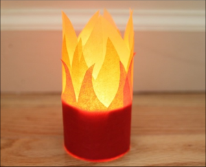 Holy Spirit Flame Craft